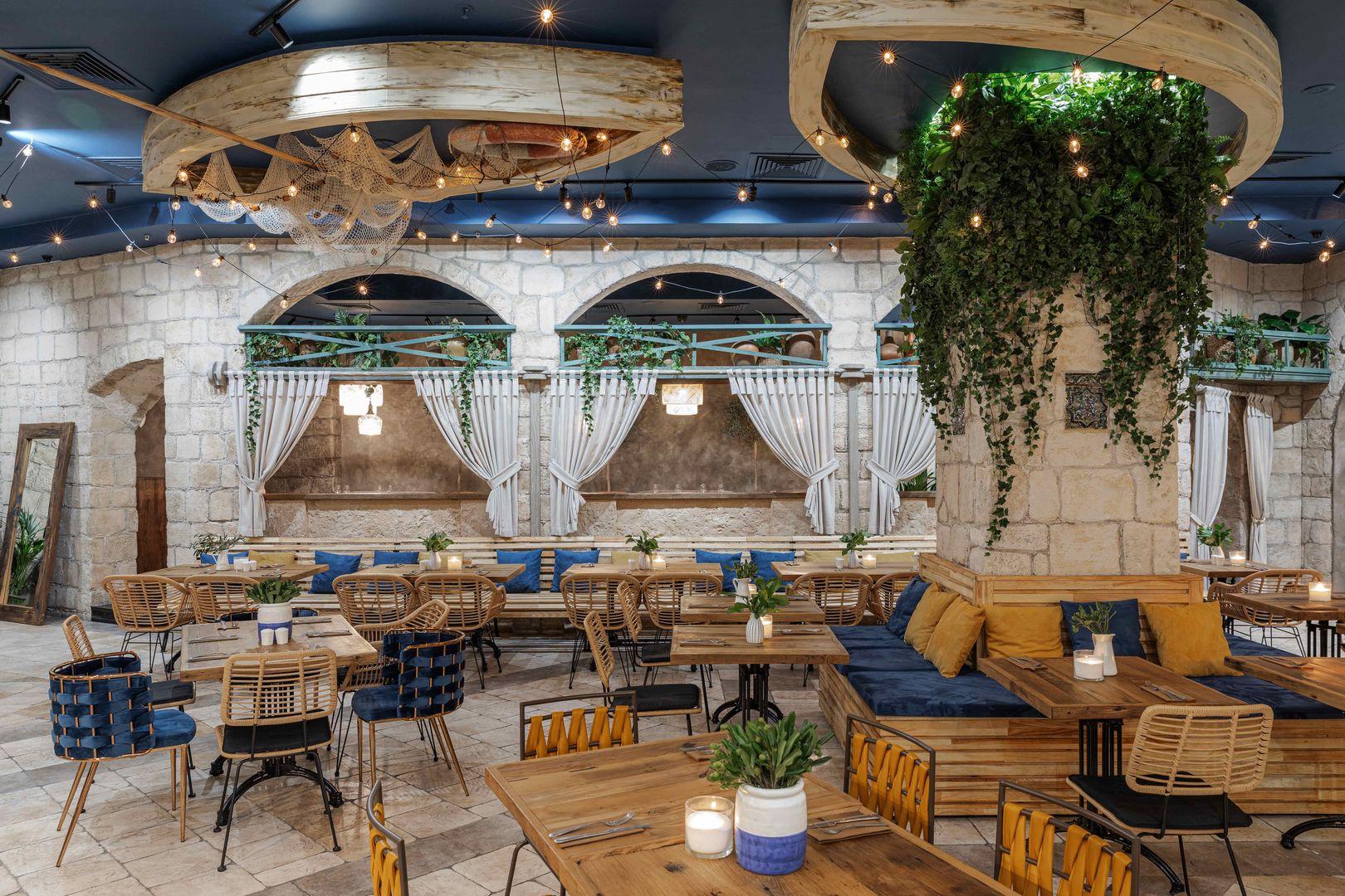 Ресторан Misha Fisher в Яффо