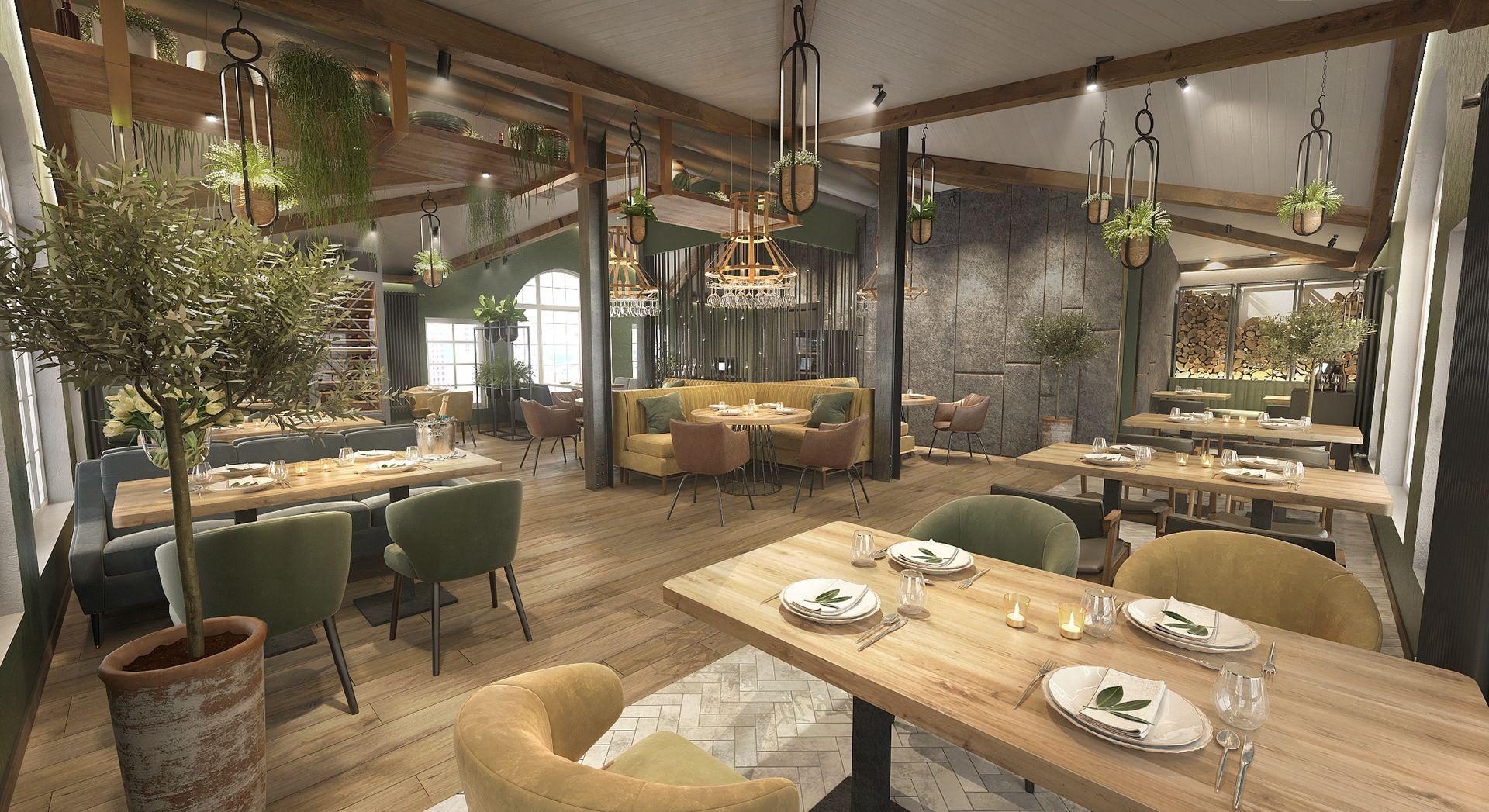 Ресторан Dodici Atmosphere