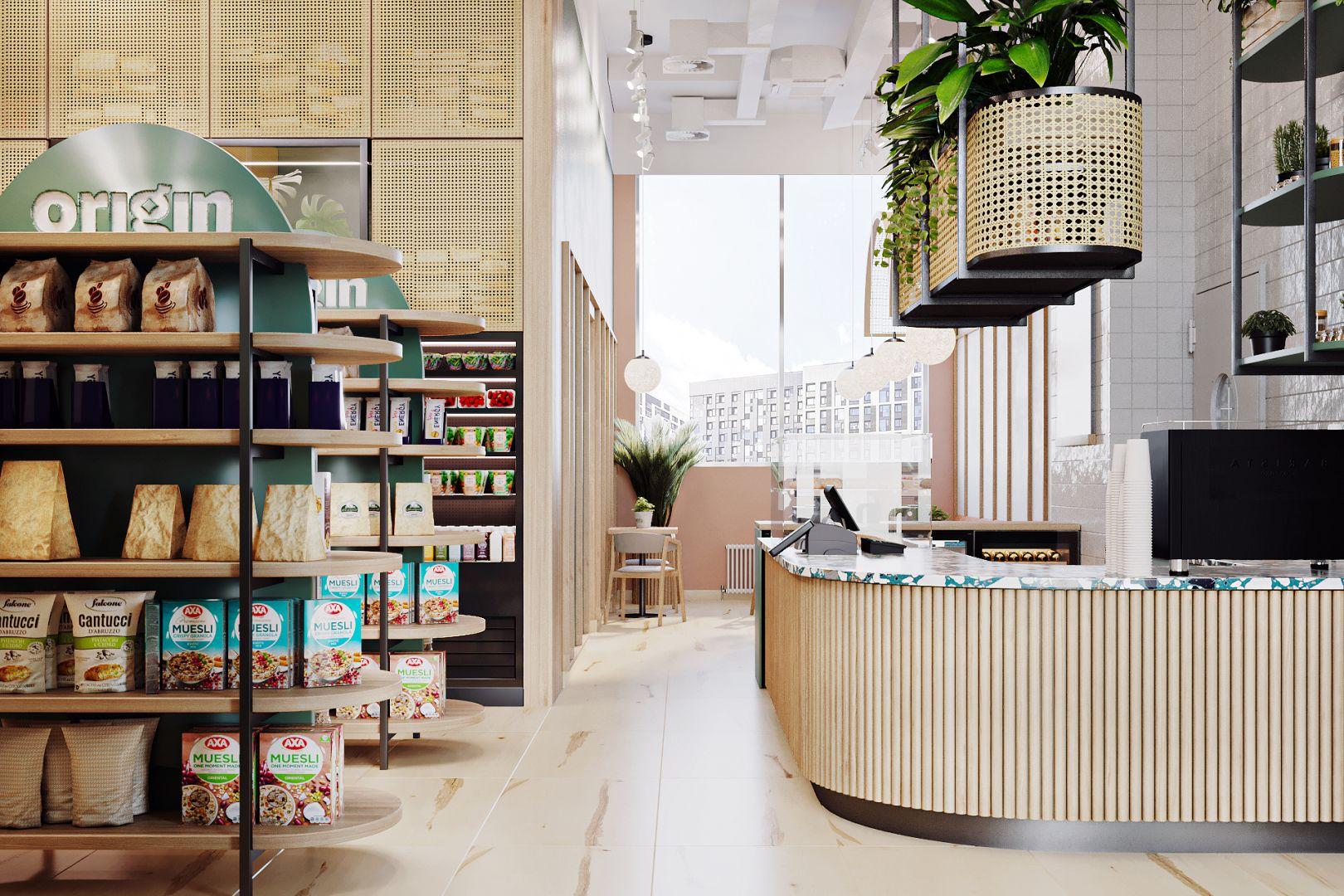 Магазин — кафе «Origin»