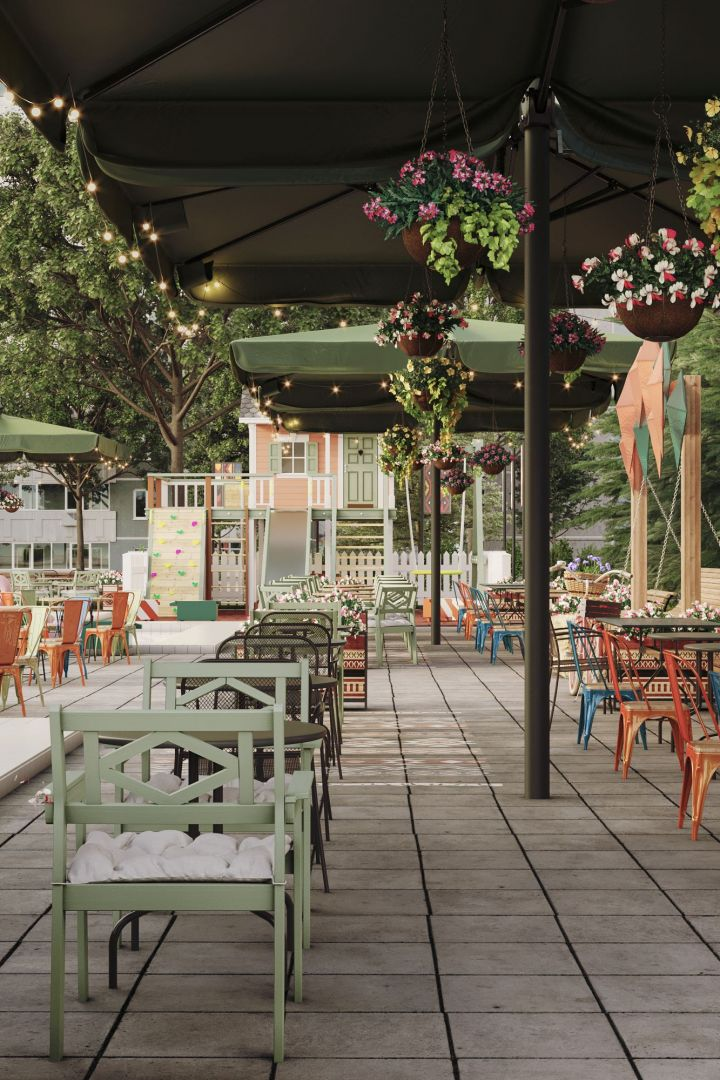 Веранда ресторана «Антресоль»